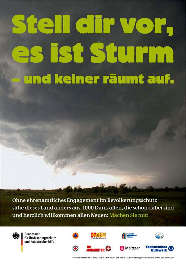 Stell dir vor es ist Sturm